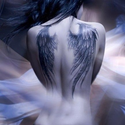 Angel+Wings+Tattoos+On+Back | ... on back inlovingmemory c cached registered trademark symbol vector