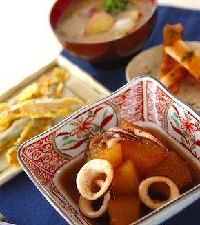冬瓜とイカの煮物」の献立・レシピ - 【E・レシピ】料理のプロが作る ... 冬瓜とイカの煮物の献立