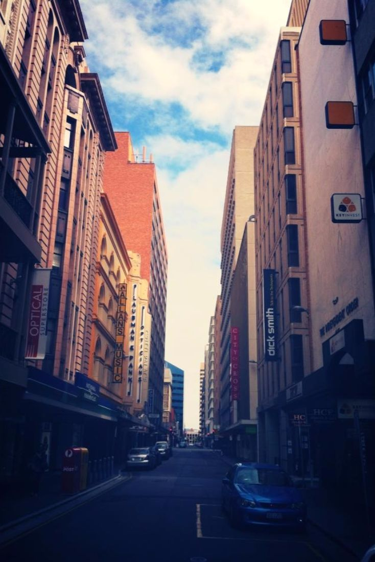 Street view in Adelaide