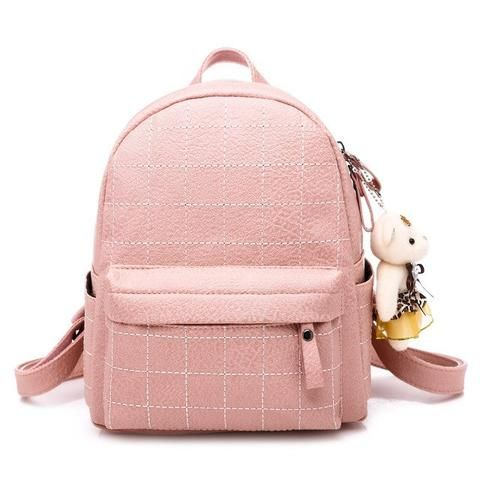 a45ac684826 Vintage Matte Leather Women Backpacks High Quality Multifunctional ...