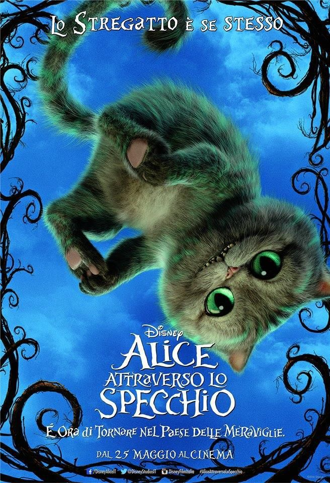 Alice attraverso lo specchio  #AliceinWonderland #AliceThroughtheLookingGlass