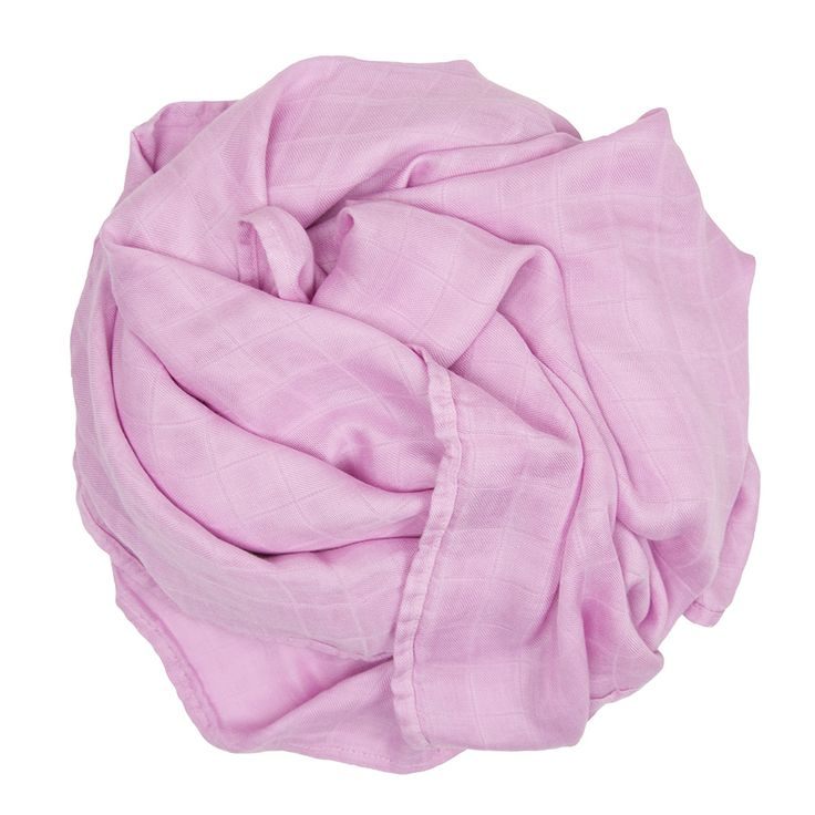 Bamboo Muslin Colours - Candy Pink