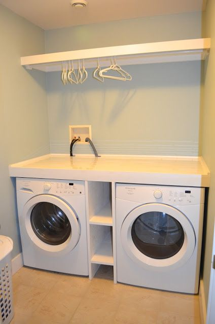 25 best ideas about washer dryer shelf on pinterest diy for Shelf above washer and dryer
