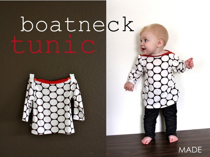 TUTORIAL: Boatneck Tunic | MADE