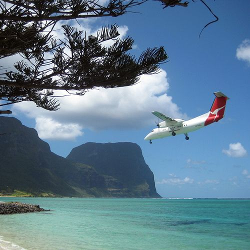 Lord Howe Island, Australia, pretty sure I need to be there right now.