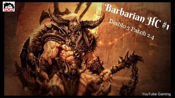 Diablo 3 patch 2.4 PS4 Barbarian Hardcore New Start (And I Died). [ITA\EN] #Diablo3