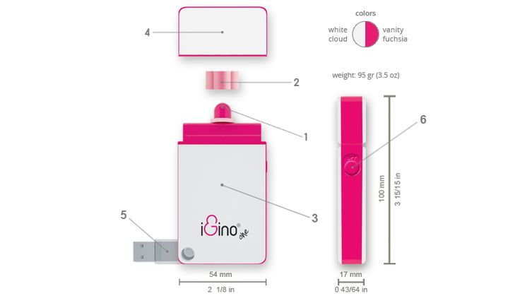 iGino® | Home #sextoy #vibrator #measures