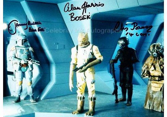 Star Wars JEREMY BULLOCH, ALAN HARRIS and CHRIS PARSONS as Boba Fett, Bossk and 4-LOM - Star Wars: Episode V G No description http://www.comparestoreprices.co.uk//star-wars-jeremy-bulloch-alan-harris-and-chris-parsons-as-boba-fett-bossk-and-4-lom--star-wars-episode-v-g.asp