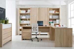 VENOM MIX BRW Cabinet (Home Office). Furniture are designed for people who like simple forms, contrasts and subtle details. Polish BRW Modern Furniture Store in London, United Kingdom #furniture #polish #brw #homeoffice