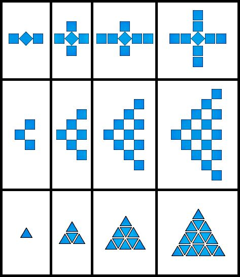 Growing Patterns: 2 free task cards. If you go to the site and select back to activity you cm read the lesson plans.