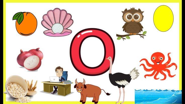 Letter O Things That Begins With Alphabet O Words Starts With O