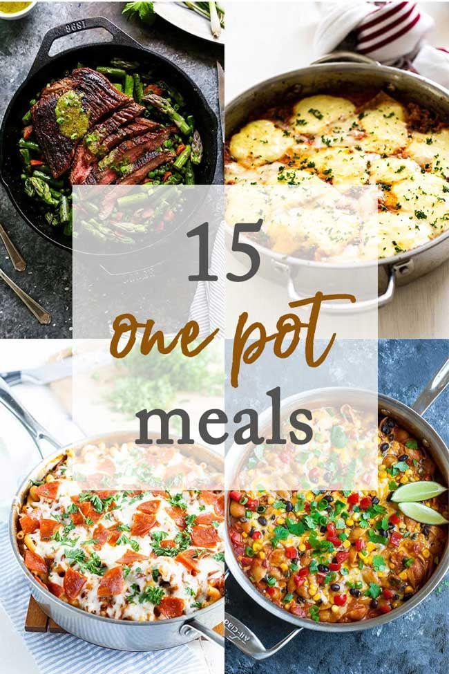 One Pot Dinner Recipes One Pot Meals Recipes Food