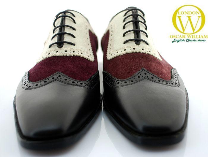 Oscar William Mens Handcrafted Luxury Design Footwear Italian Calfskin  Leather