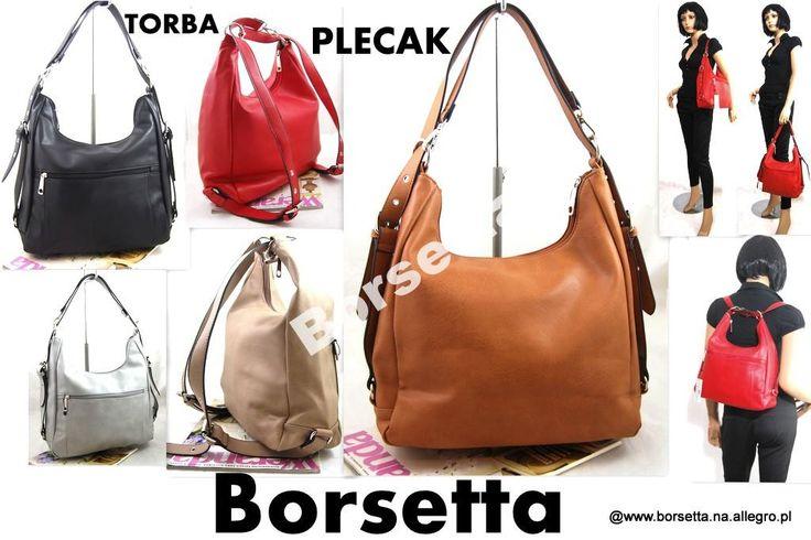 Torba - Plecak torebka  2 w 1 HoT Blogg K26 #torebka # torebka damska #plecak
