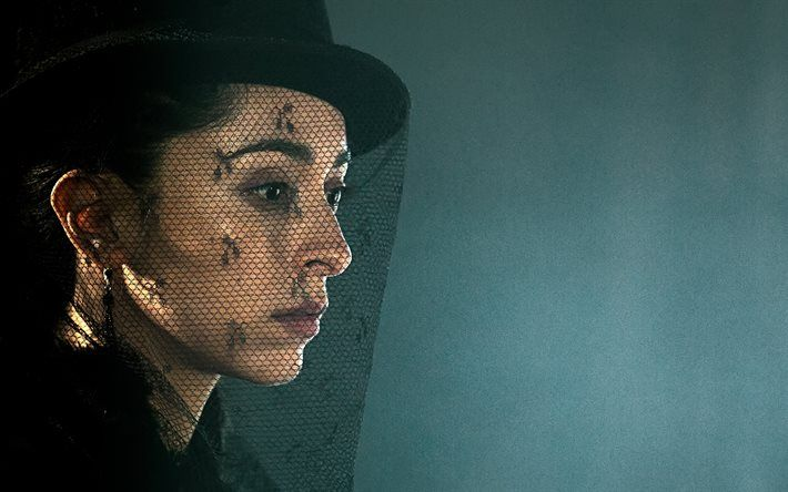 Taboo, 2017, TV series, Oona Chaplin, portrait, American actress