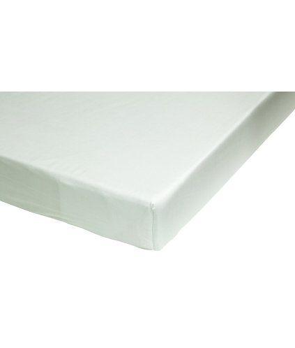 Mintgrønn. Et formsydd laken i fintrådet og tettvevd bomullskvalitet. 30s-garn. Passer til madrasser opp til 23 cm høye.