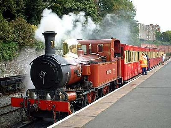 Douglas Steam Train across Isle of Man