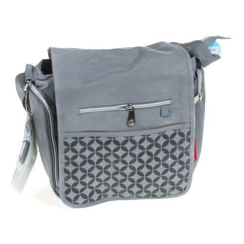 mini messenger diaper bag bought for little b pinterest grey