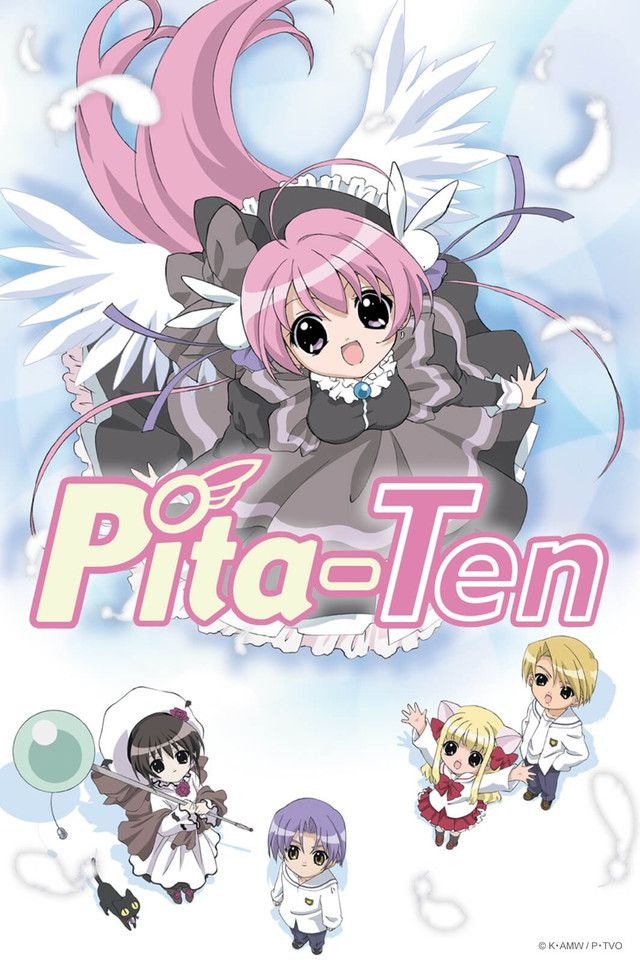 I should be finishing those other anime series I started, but Crunchyroll got Pita-Ten, so. It's not like I have a choice! Started watching in September.