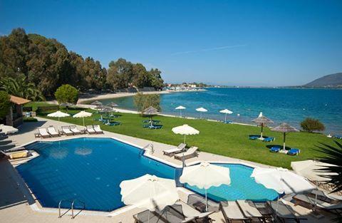 The magnificent view of Hotel Porto Ligia