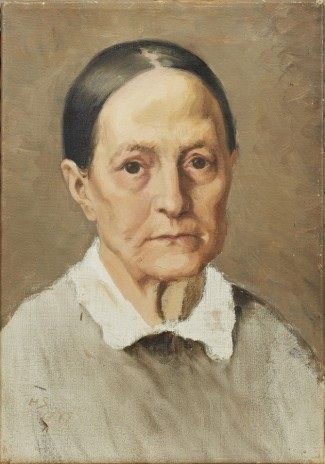 Helene Sofia Schjerfbeck - Åldring (Gumma) 1879