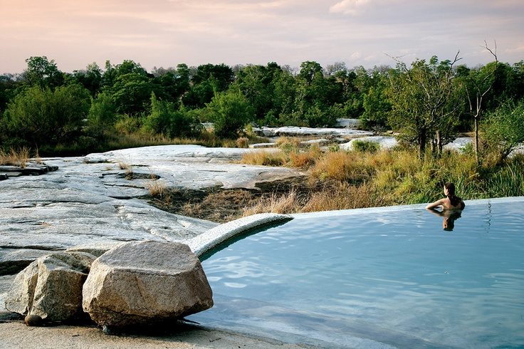Londolozi Private Game Reserve. Johannesburg, South Africa. #relaischateaux #londolozi #reserve #spa #pool