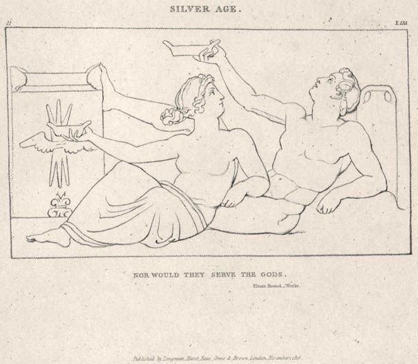John Flaxman, Compositions From the Works Days and Theogony of Hesiod, copy 1, 1817 (Collection of Robert N. Essick): electronic edition