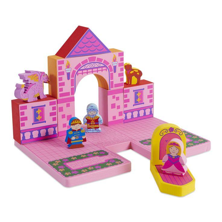 Bath Blocks Castle set / Badblokken kasteel