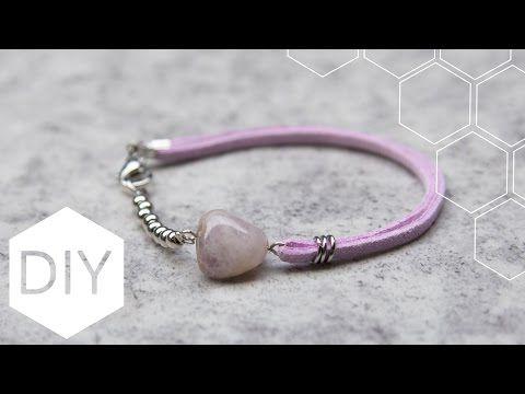 #DIY #sieraden #maken met #Kralenhoekje - #Faux #suede #armband - #YouTube