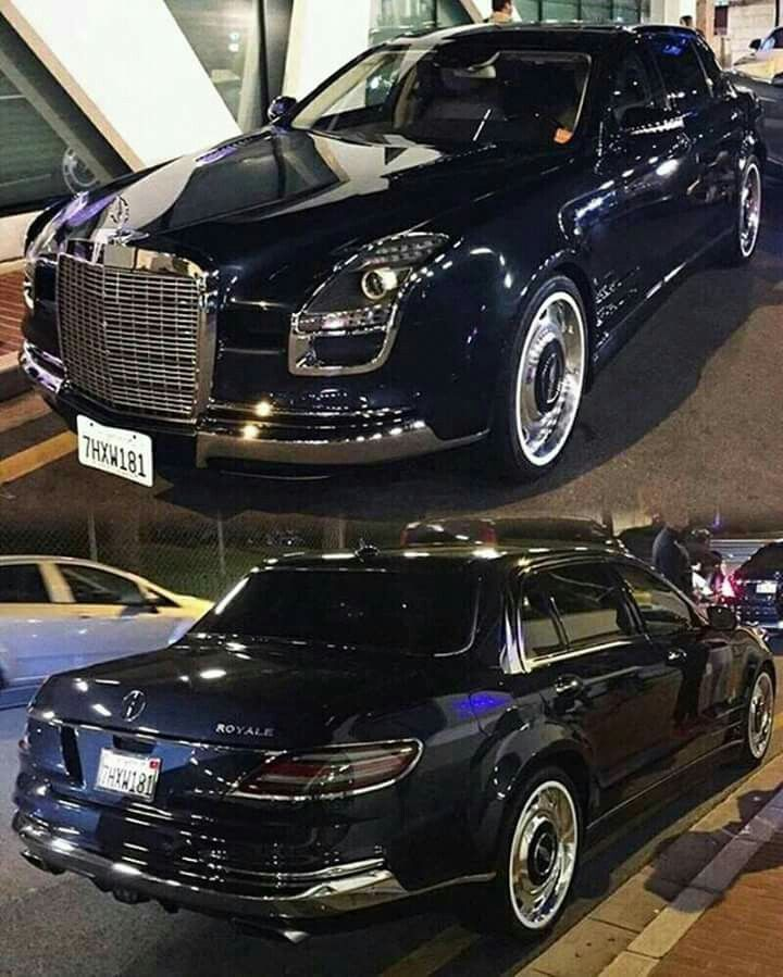 Exceptionnel Combination of new and old, Mercedes Benz S600 Royale. What a  SH84
