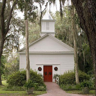 Micanopy, Florida. Chapel. I have visited this quaint little chapel.