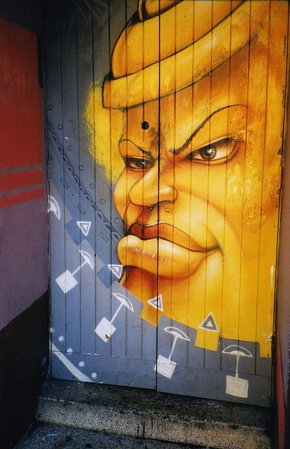 Cape Town - long street graffiti by hom26, via Flickr