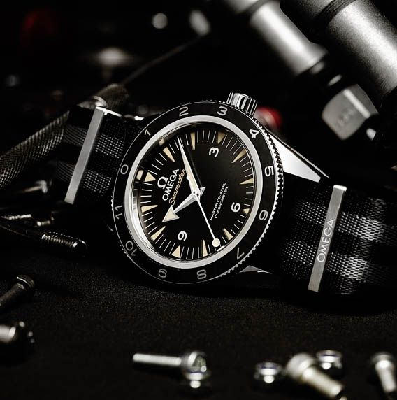 Omega Seamaster 300 « SPECTRE » - James is back in time