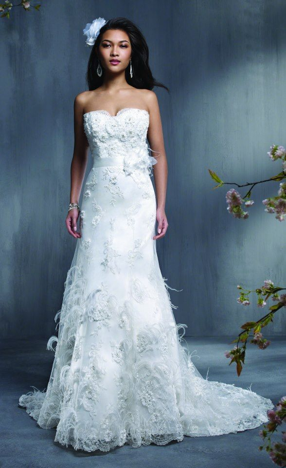 51 best Vestidos de noiva | Wedding Dresses: Alfred Angelo images on ...