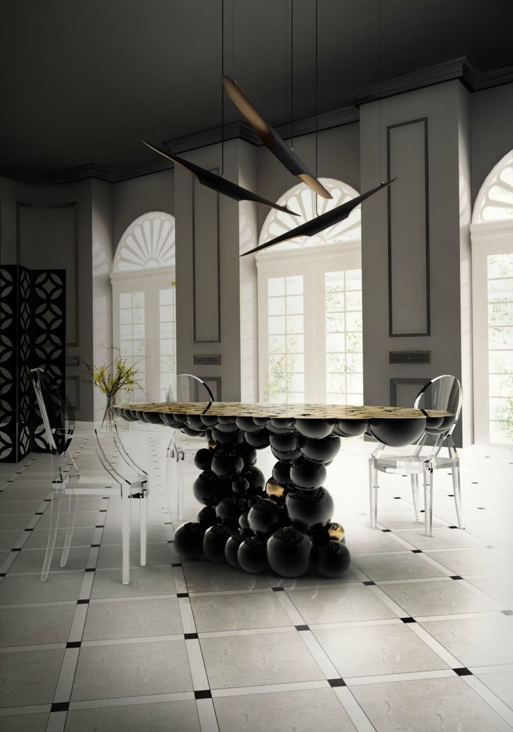 4 Outstanding Dining Room Table Ideas From Boca Do Lobo