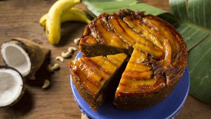 Mozambique Banana Cake