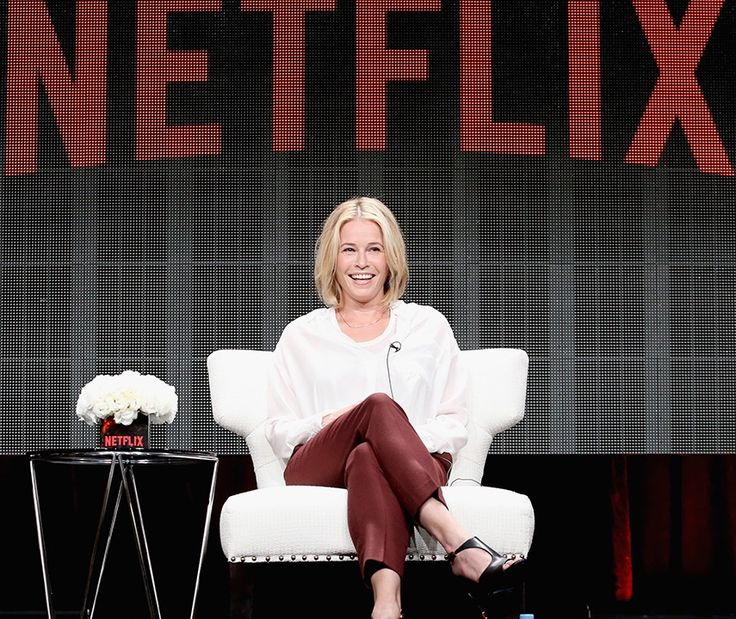 You can enjoy Chelsea's talk show on Netflix, she is very funny and smart and it's a great show on Netflix