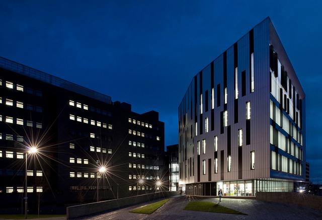 Edinburgh Napier (Sighthill campus) - the newest location.