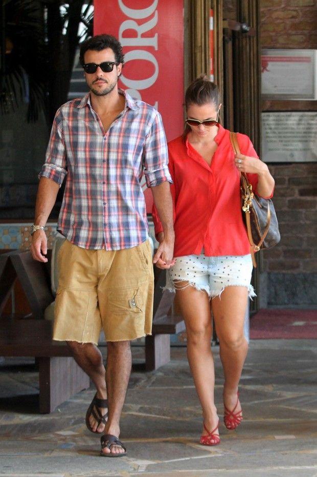 Paola Oliveira e Joaquim Lopes (Foto: Wallace Barbosa/AgNews)