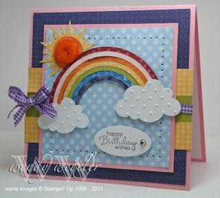 Sunshine and Rainbows ... and BIRTHDAYS!!