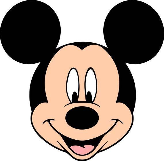 Cara Mickey Color Cara De Mickey Mickey Mouse Mickey