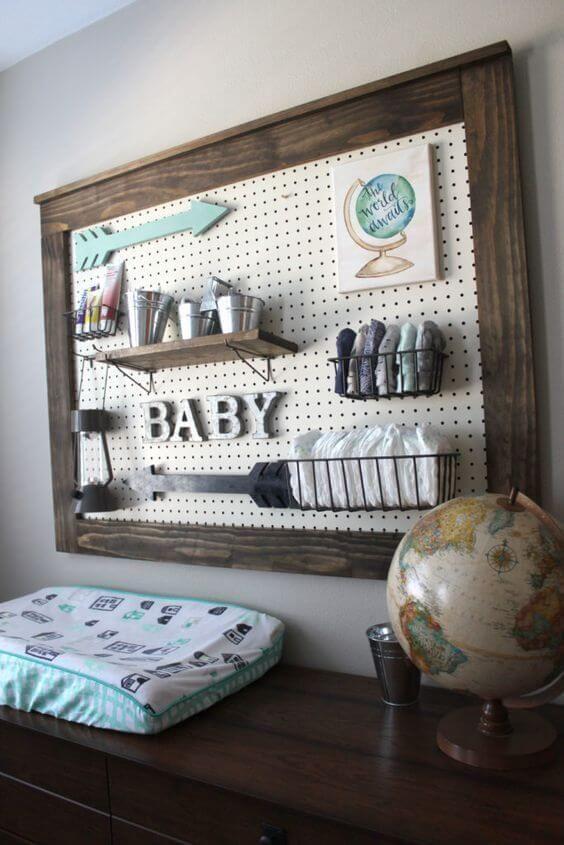 Idées de décoration de chambre de bébé bricolage # création # idées # salle   – Kinderzimmer