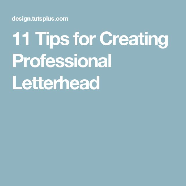 Best 25+ Professional letterhead ideas on Pinterest Letterhead - free professional letterhead templates