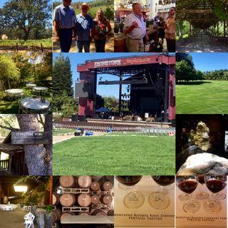Ironstone Winery Murphys Sierra Nevada It is a destination in that area. Taste wine, taste history, listen to great music