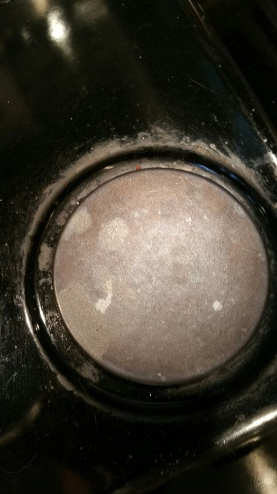 how to clean gas stove stains on pots