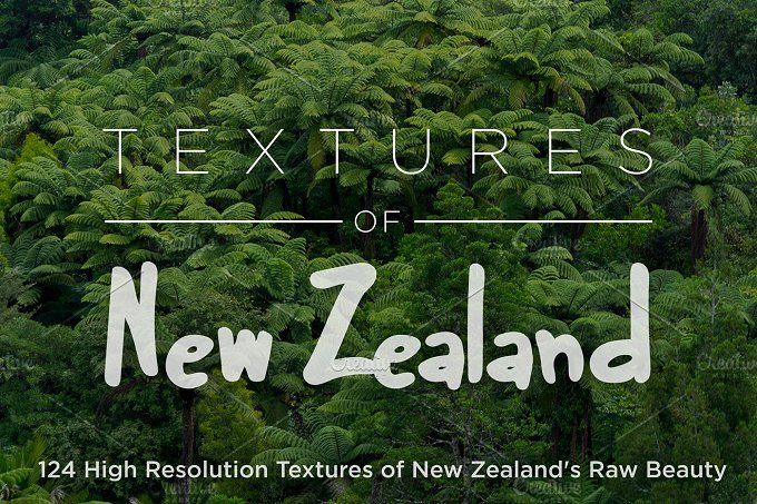 Textures of New Zealand - Bundle by Deviant on @creativemarket
