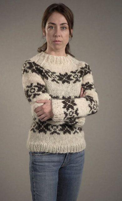 En stund siden nå at den danske krimserien Forbrytelsen gikk på TV her, såpass lenge siden at jeg hadde glemt denne fine færøyske genseren s...