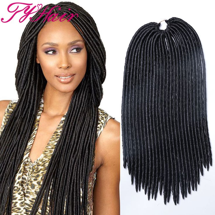"crochet faux locs ali tdy hair store  faux locs 18"" with 24 roots whatsapp :+86 18539968123"
