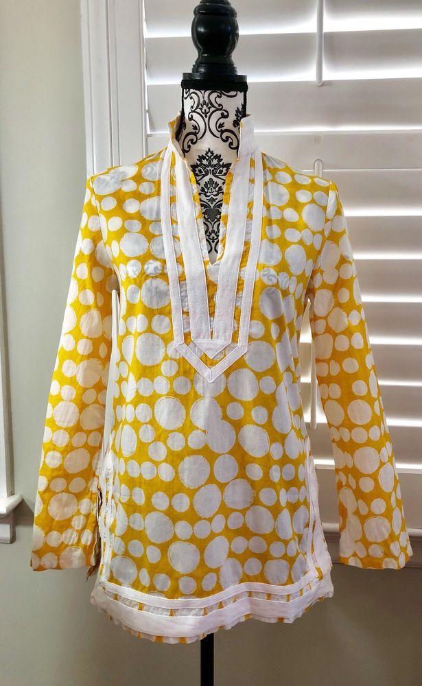 MICHAEL KORS Spring Summer Tunic Top Ladies Small Petite ~   | eBay