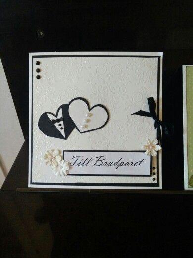 Bröllopskort, scrapbooking 2015, cardmaking